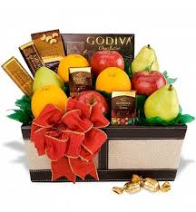 Gourmet Fruit Baskets Gourmet Fruit Gift Basket Basket Chocolate Fruit Gift