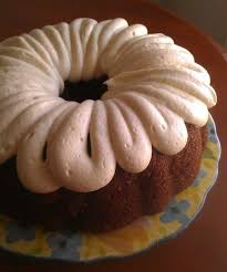 carrot bundt cake with pineapple cream cheese frosting