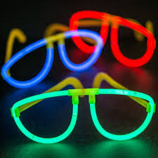 glow in the party supplies glow glasses each party supplies walmart