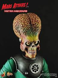 Mars Attacks Halloween Costume Toys Mms 108 Mars Attacks 1 6th Scale Martian