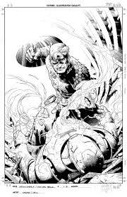 captain america vs iron man u2013 colwell illustration