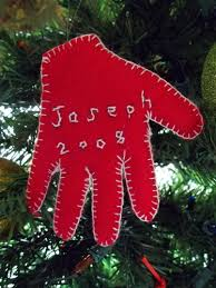 baby u0027s first christmas handprint ornament u2013 quiver full of blessings