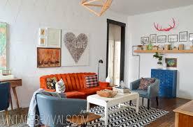 vintage livingroom living room makeover reveal vintage revivals