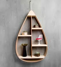 wood teardrop shelf 4 shelves home decor u0026 lighting the