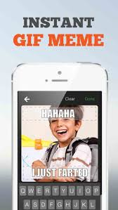 How To Create A Meme On Iphone - gifnic create gif meme selfies on the app store