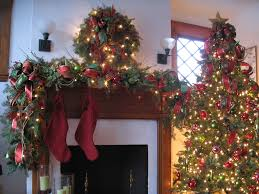 fireplace remarkable christmas mantel decorations with white