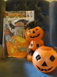 Folk Art Halloween Decorations Bucks County Folk Art Vintage Halloween Decorations Findings