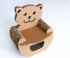 How To Make A Cardboard Chair 56 Best Cardboard Furniture Images On Pinterest Cardboard Chair