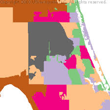Kissimmee Florida Zip Code Map Osceola County Florida Zip Code Boundary Map Fl