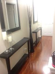 How To Decorate A Hallway Alluring Tables For Hallway And Best 20 Narrow Entry Hallway Ideas