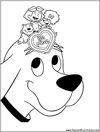 clifford coloring pages bestofcoloring com