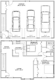 size of a three car garage 3 car garage dimensions plans ppi blog