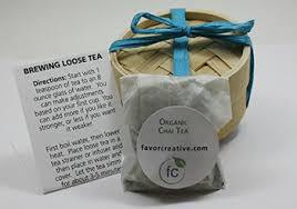 tea favors eco wedding favors organic teas