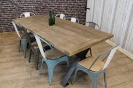 metal frame table and chairs industrial steel table range peppermill interiors