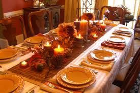 thanksgiving table home interior design