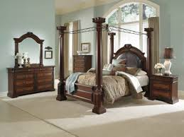 Value City Bed Frames Americansignaturepintowin Barcelona Canopy Bed American Within