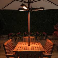 Electric Patio Heaters by Electric Parasol Heater
