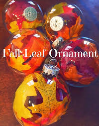 tiny reveries fall leaf ornaments and a thanksgiving tree