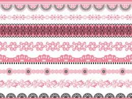retro lace ornaments set free vector free vectors ui