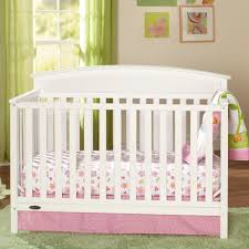 graco benton 5 in 1 convertible crib white babies