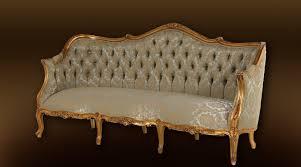 canapé louis xv canapé 3 places style louis xv dorure et soie