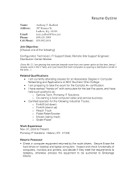 Simple And Attractive Resume Very Attractive Resume Outline Examples 1 Best For Your Job Search