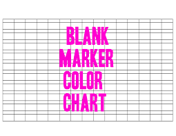 blank marker color chart by otomezaki on deviantart within how