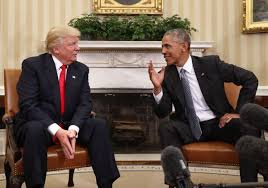 Trump In The Oval Office President Obama Meets Donald Trump For The First Time In The Oval