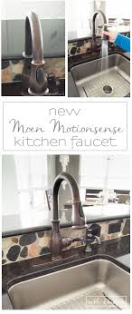 moen motionsense kitchen faucet a stylish and free kitchen faucet t h kitchen