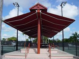 Gazebo With Awning Awnings For Business 10 Reasons To Buy Retractableawnings Com