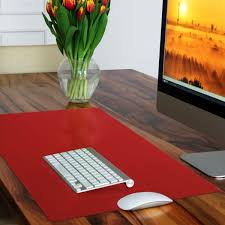 using desk mats and pads as creative desk organizers office inspire