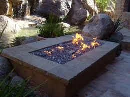 Propane Fire Pits With Glass Rocks by Fire Pit Magnificent Design Outdoor Fire Pit Pictures Garden