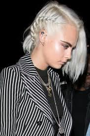 silver hair cara delevingne silver hair 2017 popsugar beauty