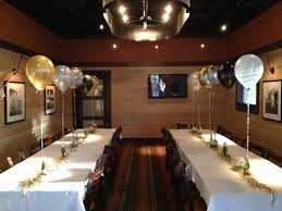 table decorations balloons champagne bottles gold silver new years