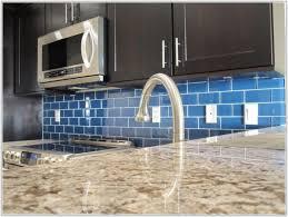 Best Blue Glass Tile For Kitchen Backsplash  BayTownKitchen - Blue tile backsplash kitchen