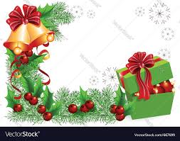 christmas gift box royalty free vector image vectorstock