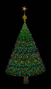 Animated Christmas Tabletop Decorations by Brightly Lit Animated Christmas Tree Can Be Used Indoors Or Out
