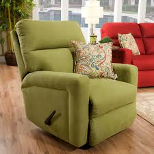 furniture cozy living spaces with contemporary rocker recliner