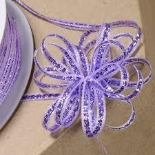 iridescent ribbon iridescent lurex pull bow ribbon 3mm x 25mt cgc501 by www