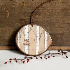 Christmas Ornaments With Initials Hedgehog Ornament Wood Slice Ornament Hand By Bugaboobeardesigns