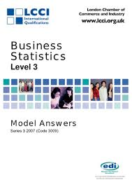 97901279 business statstics series 3 2007 code3009