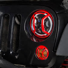 rugged ridge elite tail light guards body protection