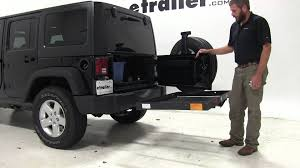 cargo rack for jeep review of the pro series hitch cargo carrier on a 2014 jeep