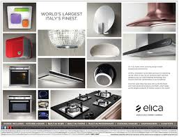 elica showcases its most exclusive italian design kitchen