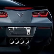 c7 corvette accessories carbon fiber and stainless rear quarter trim for c7 corvette stingray