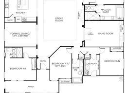 house plans one level split level floor plans with 3 car garage split level floor