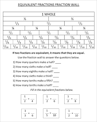 finding equivalent fractions worksheets 4th grade answers deployday