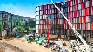 office building construction documentary cologne oval offices