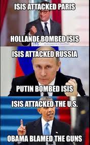 Obama Putin Meme - gun owners not terrorist to blame for san bernardino attack totus