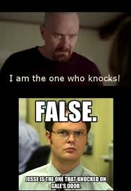 Meme Breaking Bad - breaking bad meme false jesse knocked on bingememe